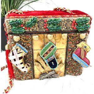 Mary Frances Holiday Chimney Scene Box Han…